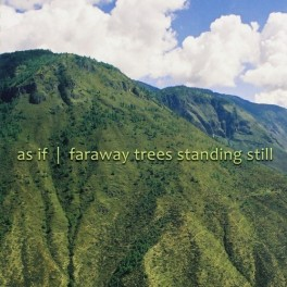As If : faraway trees standing still