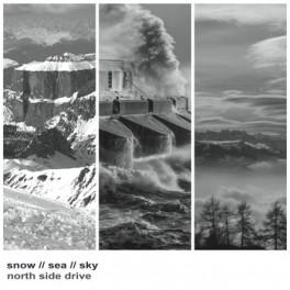 North Side Drive : snow,  sea, sky