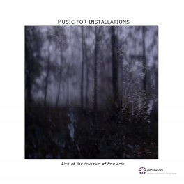 Music for Installations - live at the museum of fine arts